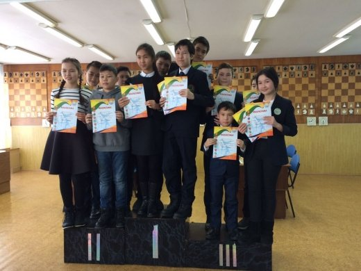 Congratulations to the students of the classical school on the  victory in competitions in chess,